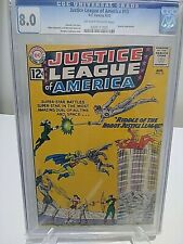 JUSTICE LEAGUE of AMERICA #13 CGC 8.0 Silver Age