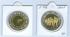 """Schweiz  5 Franken 2003 """"Chalandamarz""""  PP aus KMS"""