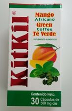 KITKIL DIET  30 Capsules AFRICAN MANGO GREEN TEA GREEN COFFEE