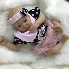 "CHERISH DOLLS NEW REBORN DOLL MORGAN BABY FAKE BABIES REALISTIC 22"" NEWBORN GIRL"