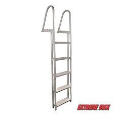 Extreme Max Aluminum Pontoon/Dock Ladder - 5-Step TMC, Premier, Sunchaser,etc
