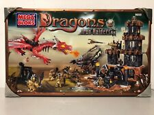 Rare Mega Bloks Dragons Iron Raiders #9650(signs of shelf wear)