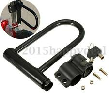 Universal Bike Bicycle Motorcycle U Security Anti Theft Lock + 2 Keys Heavyduty