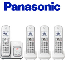 Panasonic KX-TGD534W Cordless Phone Call Block Answering Machine Handsets