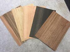 A4 Mixed Wood Veneer Sample Pack