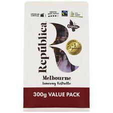 Republica Organic Melbourne Laneway Ristretto Dark Roast Ground Coffee 300 gram