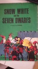 Snow White and The Seven Dwarfs (A Learn To Read Story Book) Paperback – 1968