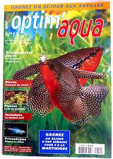 Optim'aqua Magazine n°19 - Discus/ Plantes; la loi du minimum/ Charbon actif