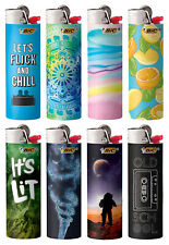 BIC New Favorites Limited Special Edition Series Lighters, Set of 8 Lighters