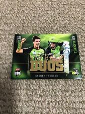 Tap N Play Bbl07 Big Bash Duos Card Sydney Thunder Cummins Blackwell