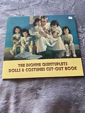 Vintage The Dionne Quintuplets Paper Dolls & Costumes New Uncut Rare!