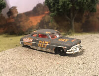 Hudson Hornet Rusty Weathered Barn Find Custom Hot Wheels 1/64 Diecast Junkyard