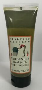 CRABTREE & EVELYN GARDENERS HAND SCRUB WITH PUMICE 6.8 OZ TUBE NEW DISCONTINUED