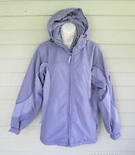 Columbia Womens Light Purple Lavender Fleece Lined Jacket S - Spring Fall Winter