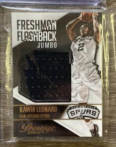 2015-16 Panini Prestige #9 Kawhi Leonard NEW Freshman Flashback Patch