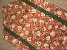 New listing Handcrafted - Quilted Table Runner - Spring is Finally Here - Floral - Sale