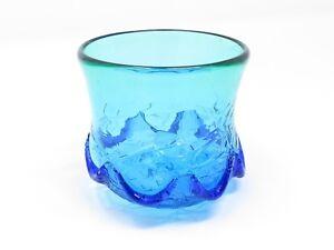 Ocean Waves Ryukyu Glass Tumbler (Handmade in Okinawa, Japan)