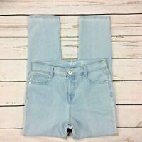 Style&Co Slim Leg Jeans Size 6P Petite Womens Ankle Light Wash Stretch Denim
