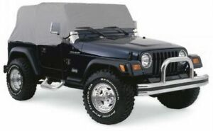Rampage 4 Layer Breathable Cab Cover for 1997-2006 Jeep Wrangler TJ