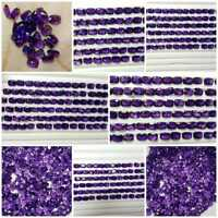 AAA Natural Purple African Amethyst cushion Wholesale Lot Faceted Gemstone