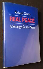 1983 Richard Nixon SIGNED/LTD REAL PEACE w/ Special Card to MOH & Vietnam POW's!