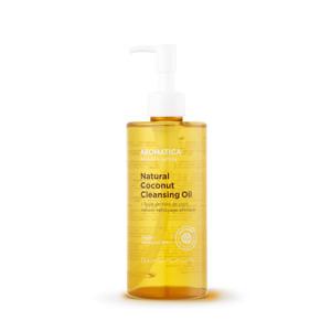Aromatica Natural Coconut Cleansing Oil, 300ml, 10.1fl oz, EWG Verified, Vegan