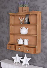 Wall Shelf Country Style Kitchen Shelves Cabinet Storage Antique
