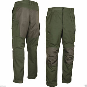Jack Pyke Countryman Reinforced Cotton Canvas Hunter Green Beaters Trousers Sml