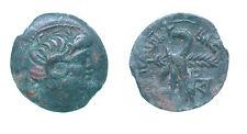 cleopatra vii AE -paphos- svoronos 1875 under Ptolemaeus,King of Cyprus RARE