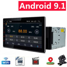2Din 10.1 in Android 9.1 Car Stereo MP5 Player FM Radio HD Touch Screen GPS WIFI