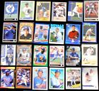 Lot of 25 KANSAS CITY ROYALS Baseball Trading Cards - assorted players & years