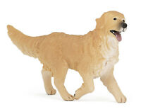 *NEW* PAPO 54014 Golden Retriever Dog Model - farm animal 6cm Tall