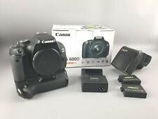Canon EOS 600D body digitalkamera  + akkugriff  + speedlite 380EX blitz