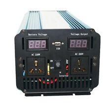 12V to 220V - 240V Pure Sine Wave 2000W 4000W(peak) Power Inverter+Charger & UPS