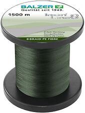 BALZER IronLine8 Angel Schnur 8fach rund geflochten grün 0,18mm 12,7kg à 50m TOP