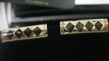 new in box WITH PAPERS DUNHILL STERLING 925 SAMURAI SWORD CUFFLINKS $395