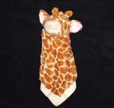 NEW Baby Ganz Jamie Giraffe Mini Blankie Blanket Security Lovey