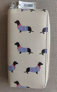 Dachshund purse/wallet Never used with tag