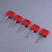5 PCS Excavator Key Fit for John Deere Hitachi H800 Case Dozer Fiat New Holland