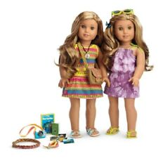 American Girl LEA CLARK EXCLUSIVE COLLECTION doll dresses book shoes camera