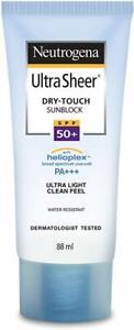 Neutrogena Ultra Sheer Dry Touch Sunblock, SPF 50+, 88 ML Free Shipping