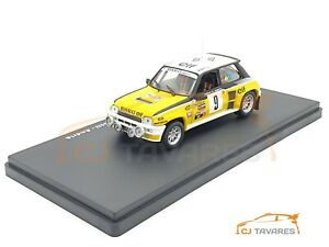ALTAYA RENAULT 5 TURBO #9 RAGNOTTI - ANDRIE RALLY MONTE CARLO 1981 1/43