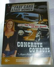 Concrete Cowboys DVD Tom Selleck 1979 REGION 0 Aussie Free Postage