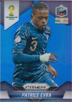 Patrice Evra 2014 Panini Prizm World Cup Blue  #194/199