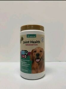 NaturVet Joint Health - Level 3 Advanced Dogs Care - 240 Soft Chews Exp: 03/2023