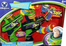 Disney Toy Story Buzz Lightyear Disc Shooter Target Gun Set Factory Sealed New