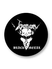 "Pin Button Badge Ø25mm 1"" Venom Heavy Metal UK"