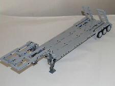 "NEW LEGO TECHNIC GRAY CUSTOM FLATBED TRAILER 25""-Long"