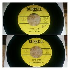 Northern Soul 45 PATTY BROOKS Love Land on Burrell