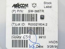 M/A COM SW-386TR RF SPDT Switch, SSOP-8, Qty.10